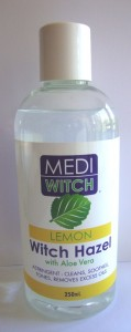 photo of lMediwitch witch hazel with Lmon and Aloe vera